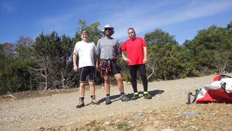 Miguel, Sergio y Mario